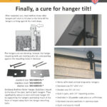 Goldberg Brothers roller hanger stabilizer 1-page flyer